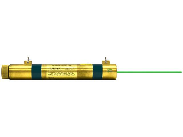 Johnson Level 40-6262 Green MSHA Mining Alignment Laser Long Range