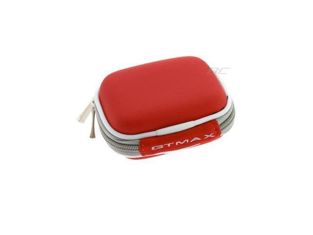 Red Premium Unviersal Bluetooth Headset Pouch Carrying Case