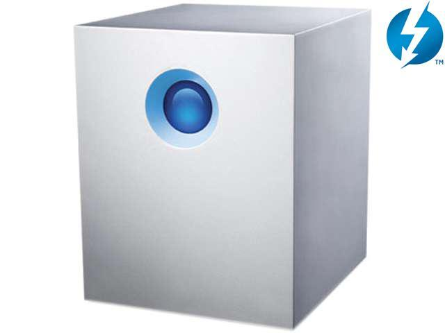 LaCie 5big Thunderbolt Series 10TB External Hard Drive (9000378U)