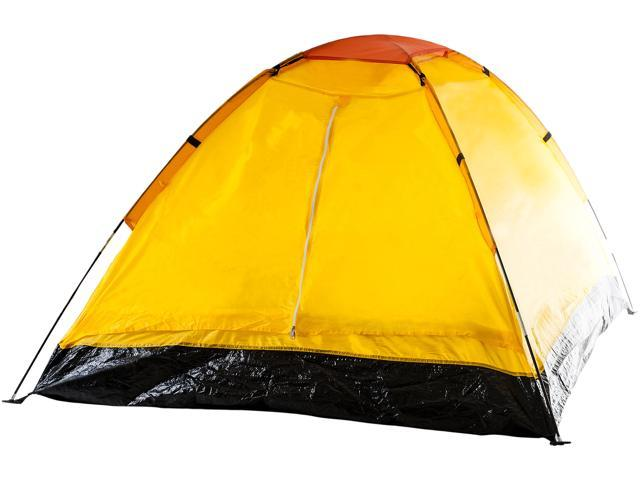 Whetstone Two Person Tent with Carry Bag - Yellow