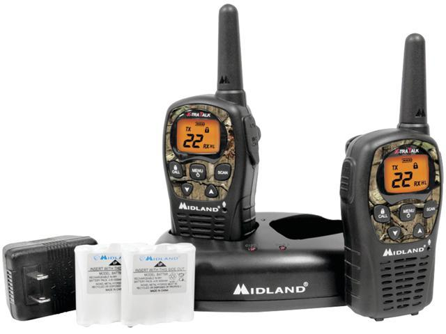 Midland LXT535VP3 22 Channel GMRS Radios - Camo