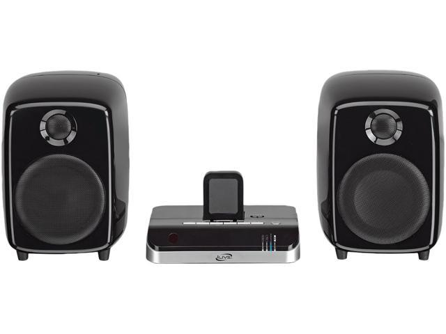 Ilive Docking Station with Speakers for Iphone - Black - ISDB752B