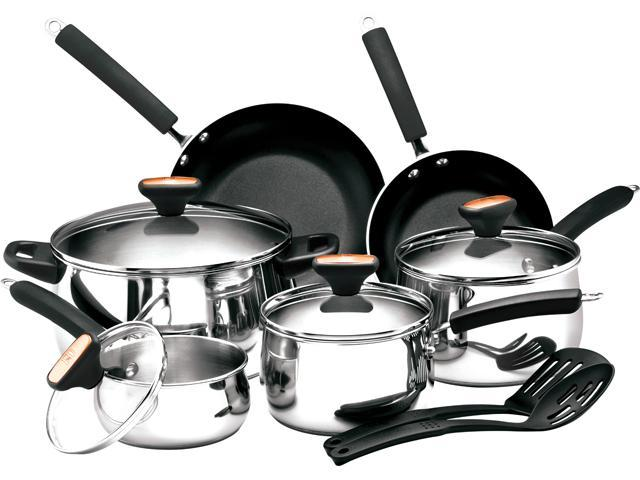 Paula Deen 12-pc. Signature Stainless Steel Cookware Set