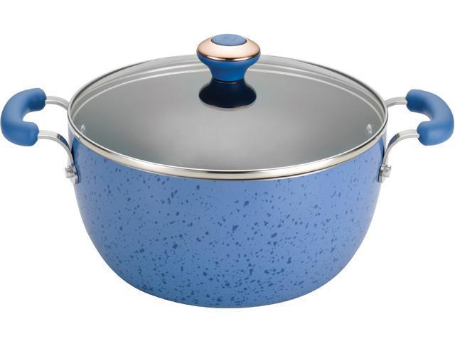 Paula Deen 5.5-qt. Nonstick Signature Porcelain Casserole, Blueberry