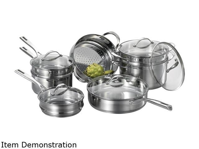 Cat Cora 12-pc. Cookware Set