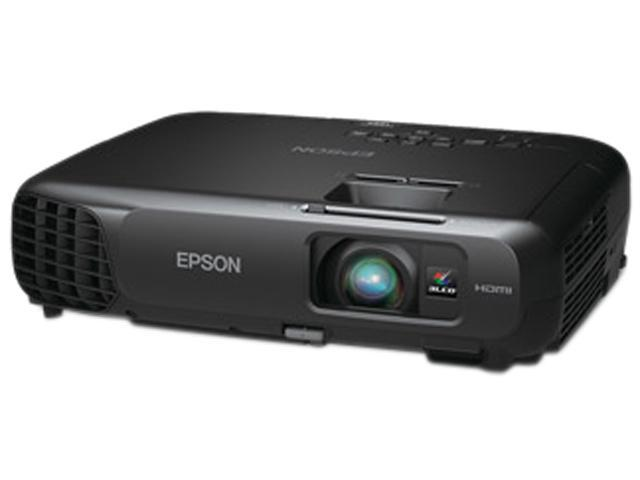 Epson PowerLite 1222 1024x768 XGA 3000 ANSI Lumens, HDMI & USB Inputs, Wireless LAN, Vertical Keystone, 3LCD Projector