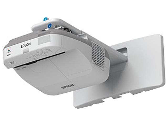 Epson - V11H603020 - Epson PowerLite 575W LCD Projector - 720p - HDTV - 16:10 - Front, Rear1.8 - UHE - 215 W - SECAM,