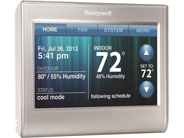 Honeywell Rth9580wf Wi Fi Smart Thermostat W Customizable Color