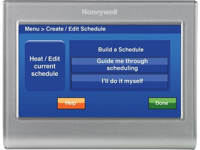 Honeywell Rth9580wf Wi  Customizable