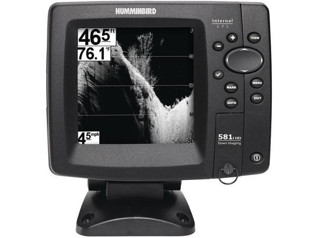 HUMMINBIRD 408990-1 581i HD DI Combo Fishfinder