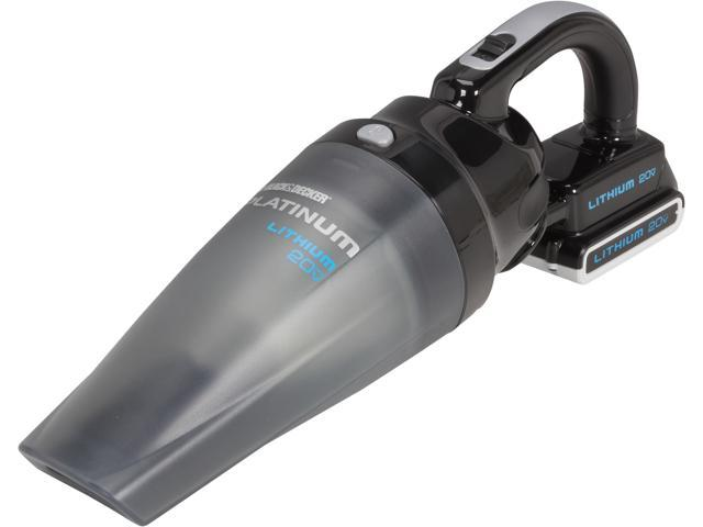 BDH2000SL 20V MAX Cordless Lithium-Ion Platinum Hand Vacuum Kit with Removal Battery