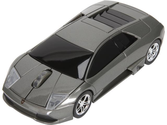 Road Mice HP-11LGMCGXA Lamborghini Murcielago Series Car Mouse - Gray