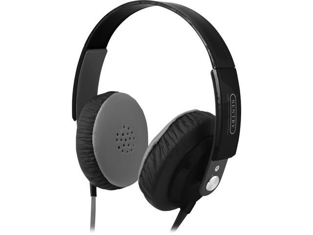 Sentry Fatboys On Ear Headphones (Black)