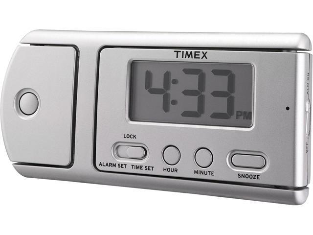 Timex T115SX Multifunction Travel Alarm Clock