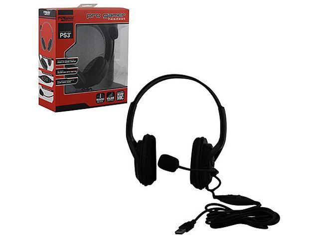Live Pro Gamer Black Wired Headset with Mic [KMD]