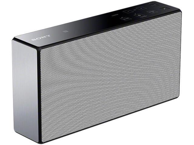 Sony - SRSX5/WHT - Portable Bluetooth Speaker w/NFC, WHITE