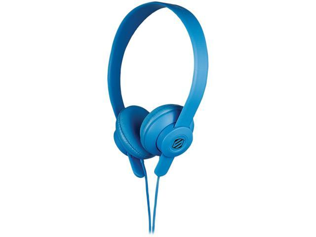 On Ear Headphone W Mic Blue