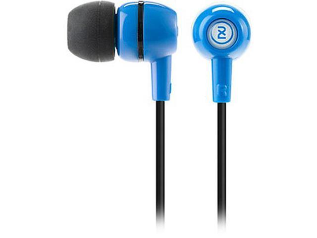 2XL X2SPFZ-821 Spoke In-Ear Headphone with Ambient Chatter Reduction, Blue