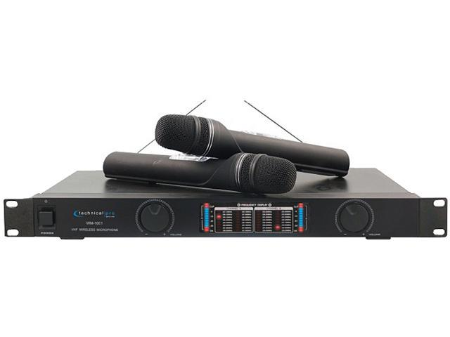 Technical Pro wm1001 Professional VHF Wireless Microphone System