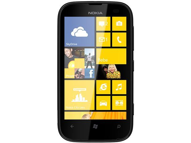 Nokia 510 Yellow 3G Windows Phone 8 Touch Screen 4GB 5.0MP Camera Unlocked GSM Cell Phone - OEM