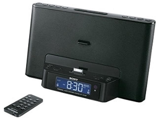 Sony ICF-CS15IP Speaker Dock Clock Radio for iPhone iPod 30-Pin Connector