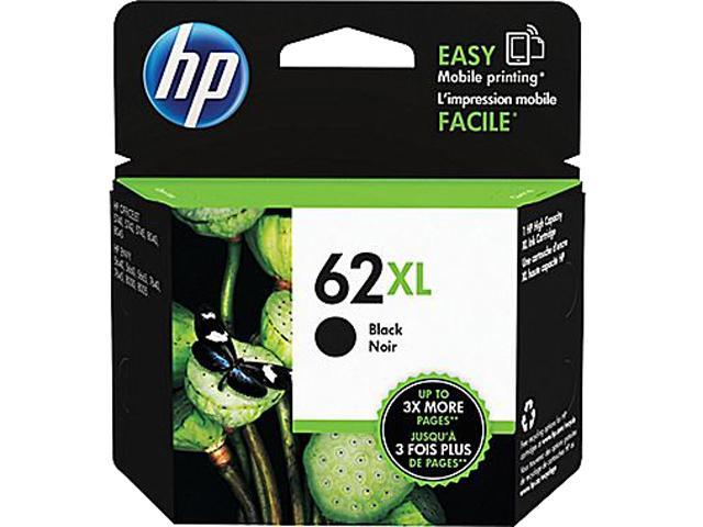 HP 62XL (C2P05AN#140) 600 Yield Ink Cartridges; Black