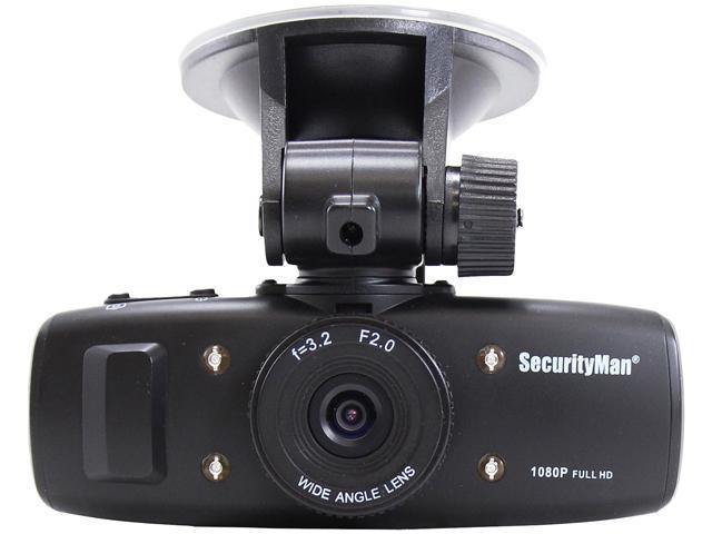 Securityman Carcam-SD HD Car Camera with Impact Sensing Recording