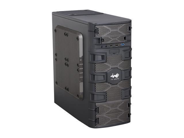 IN WIN Dragon Slayer Black 0.6mm SECC MicroATX Mini Tower Computer Case
