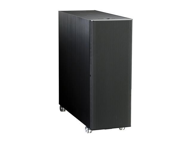 LIAN LI PC-V2120B Black Aluminum ATX Full Tower Computer Case
