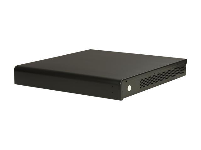 LIAN LI Black Aluminum PC-Q05B Mini ITX Media Center / HTPC Case