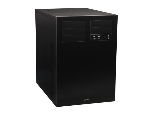 LIAN LI PC-D8000 Black Aluminum ATX Full Tower Computer Case