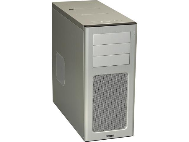LIAN LI PC-7HA Silver Aluminum ATX Mid Tower Computer Case
