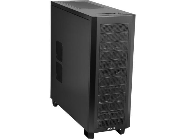 LIAN LI PC-A79B Black Aluminum ATX Full Tower Computer Case