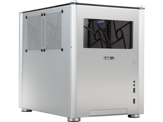 LIAN LI PC-Q36WA Silver Aluminum Computer Case