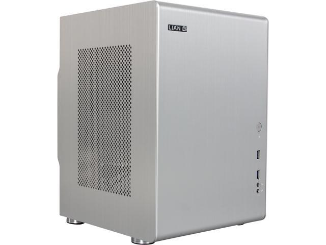 Lian Li PC-Q33B Silver Aluminum Mini-ITX Tower Chassis