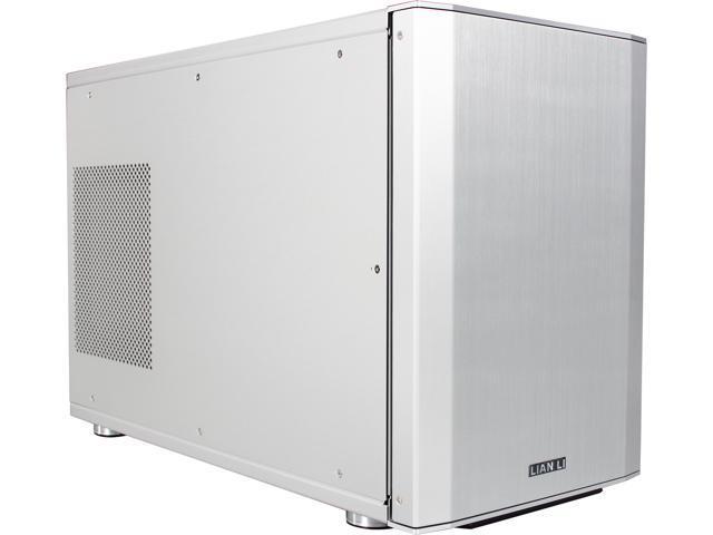 LIAN LI PC-Q35A Silver Aluminum Mini-ITX Tower Computer CaseATX (Optional) Power Supply