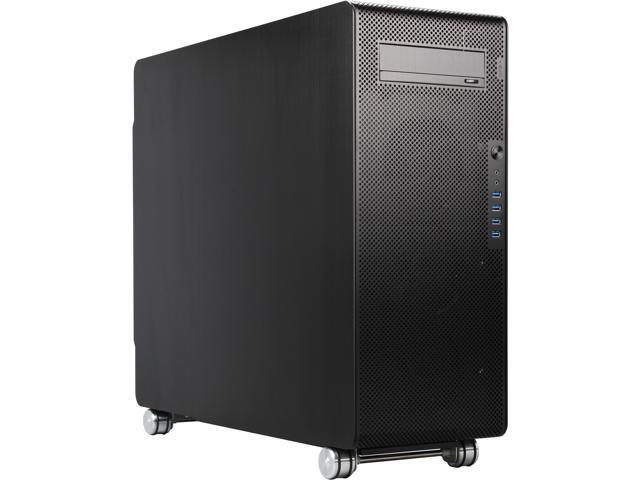 Lian Li PC-V1000LB Black Aluminum ATX Full Tower Chassis
