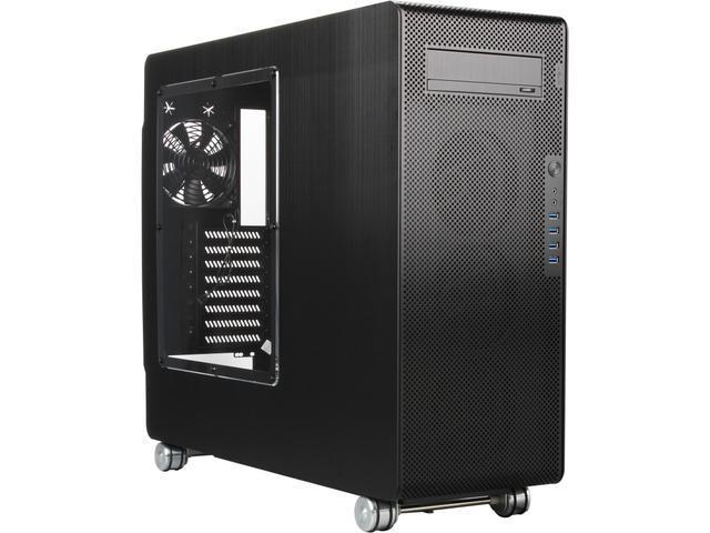 Lian Li PC-V1000LWX Black Aluminum ATX Full Tower Chassis