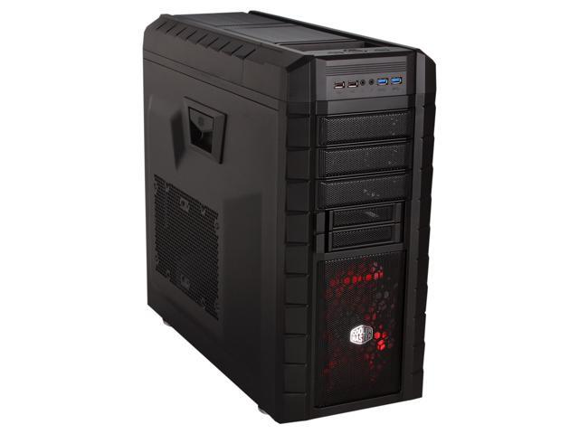 Cooler Master HAF XM - High Air Flow Mid Tower Computer Case with USB 3.0 and Two External Drive Docks