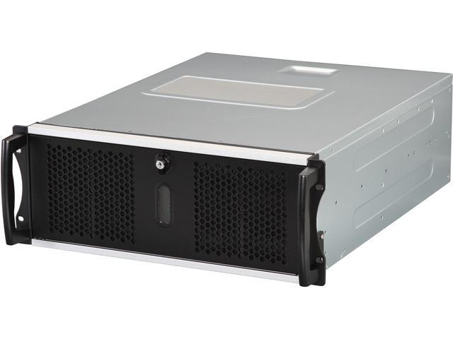 CHENBRO RM41300-FS81 Black Steel / Plastic 4U Rackmount Server Case for Tesla GPU 3 External 5.25