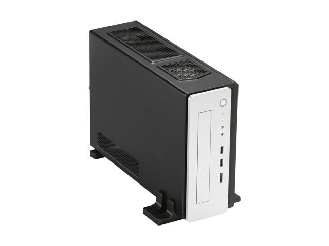 Antec ISK 310-150 Black / Silver 0.8mm cold rolled steel Mini-ITX Desktop Computer Case 150W Power Supply