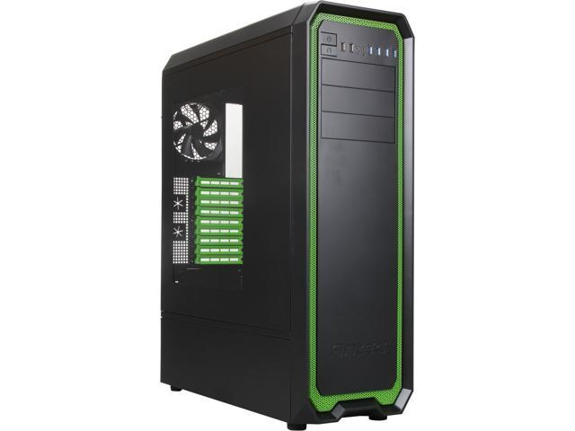 Antec Nineteen Hundred Green Black/Green SECC steel ATX Mid Tower Computer Case