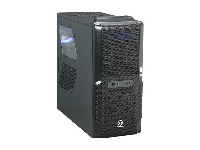 Thermaltake Dokker Mid-Tower Computer Case Single Bay HDD Docking Station High Airflow Design VM600M1W2Z
