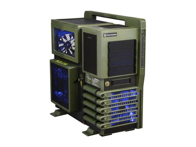 Thermaltake Level 10 GT BATTLE EDITION VN10008W2N Green and Black SECC / Plastic ATX Full Tower Computer Case