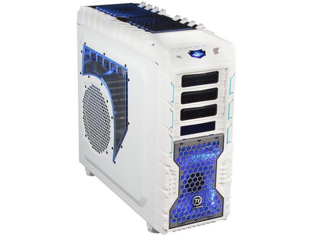 Thermaltake Overseer RX-I Snow Edition VN700M6W2N White Steel / Plastic ATX Full Tower Computer Case