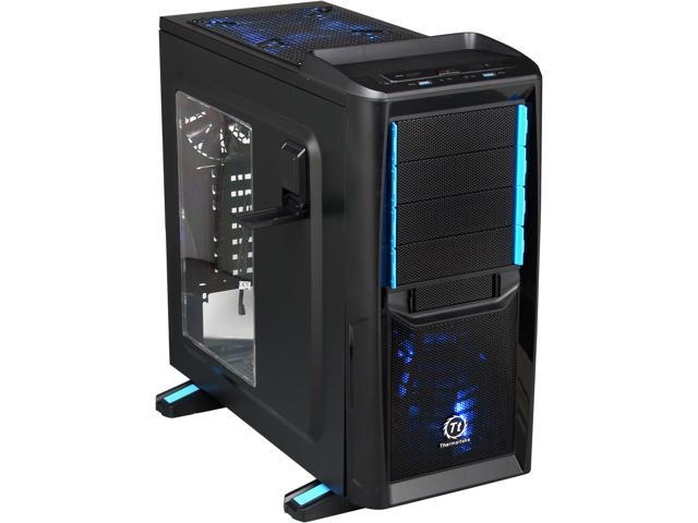 Thermaltake Chaser Series A41 VP200A1W2N Black Steel / Plastic ATX Mid Tower Computer Case