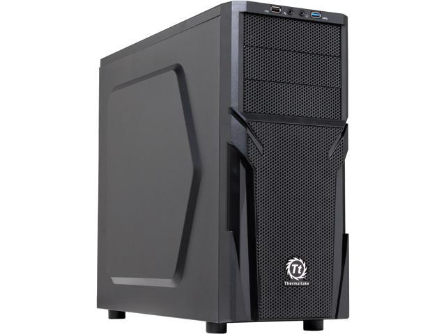 Thermaltake Versa H21 Mid Tower Computer Case with USB 3.0 and All-Black Interior(CA-1B2-00M1NN-00) (Mail In Rebate $10.0 Expires 01/31/15) (Mail ...