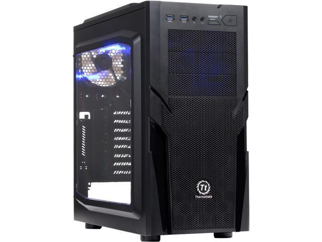 Thermaltake Commander G41/Black/Win/SECC Black SPCC ATX Mid Tower Computer Case (CA-1B4-00M1WN-00)