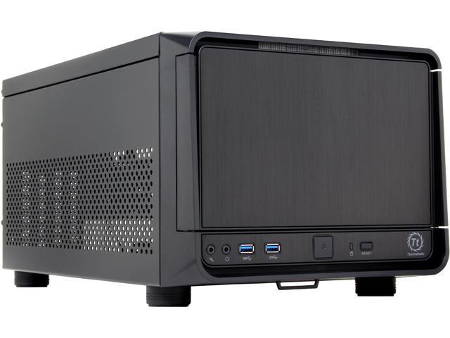 Thermaltake Urban SD1 Black SECC & Aluminum MicroATX Mini Tower Computer Case (CA-1A9-00S1NN-00)