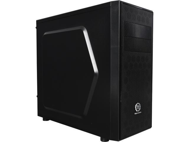 Thermaltake Versa H24 CA-1C1-00M1NN-00 Black SPCC ATX Gaming Mid Tower Computer Case (Mail In Rebate $10.0 Expires 07/13/15) (Mail In Rebate ...